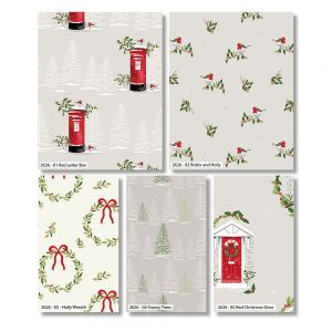Traditional Christmas Fat Quarter Pack