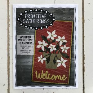 Winter Welcome Banner by Primitive Gatherings