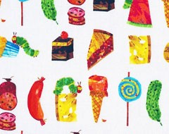 Fruit and Food Fabrics
