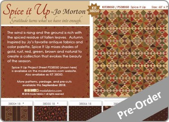 Spice It Up Fabric Range