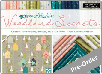 Woodland Secrets Fabric Range