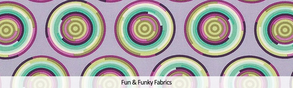 Fun and Funky Cotton Fabrics