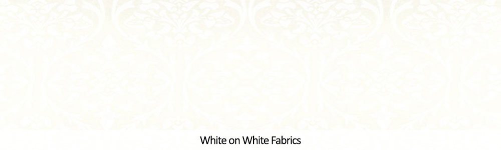 White on White Cotton Fabrics