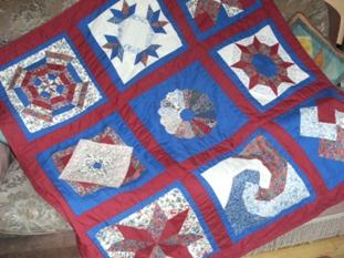 patchwork quilting sampler quilts