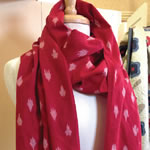 Midwinter Reds Scarf by Minick and Simpson
