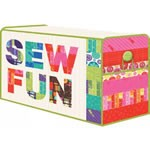 Sewing Box Cover by Gina Martin
