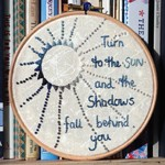 Turn To The Sun Embroidery