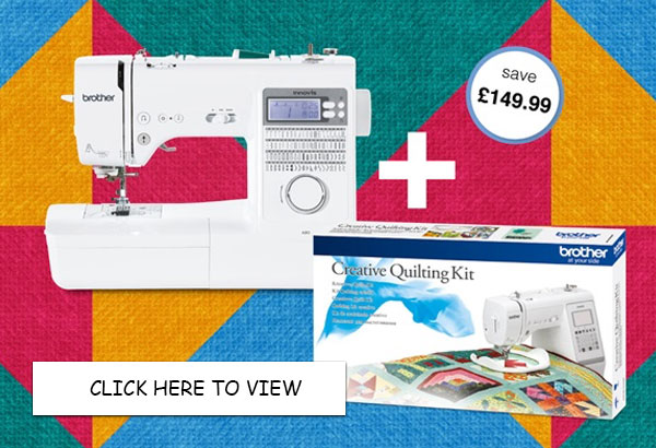 Brother A80 Sewing Machine - FREE Quilt Kit Offer