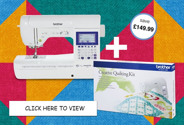 Brother Innov-is F420 Sewing Machine - FREE Quilt Kit Offer