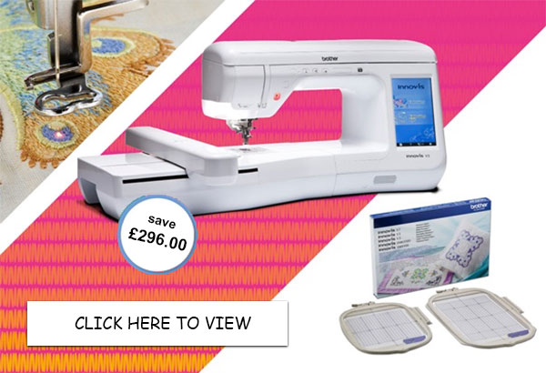 Brother Innov-is V3 Sewing & Embroidery Machine