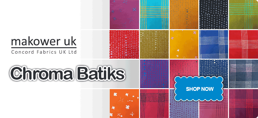 Makower Chroma Batiks Collection