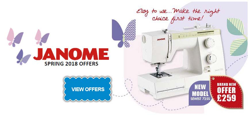 Janome Spring Machine Offers