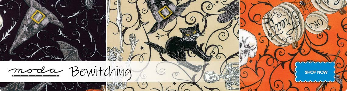 Moda Bewitching Range - Get Ready for Halloween!
