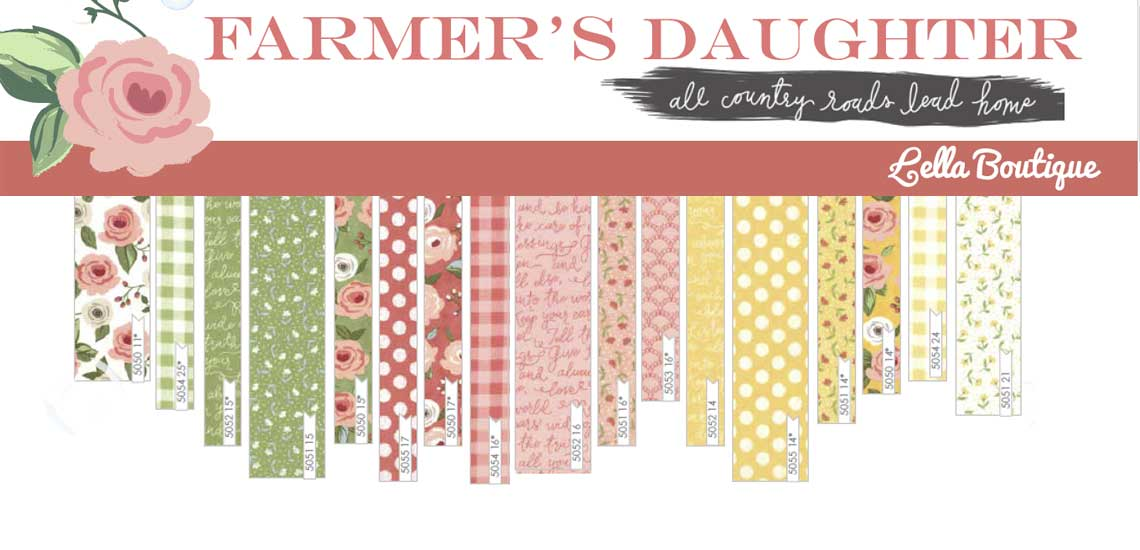 Farmers Daughter Quilting Fabric