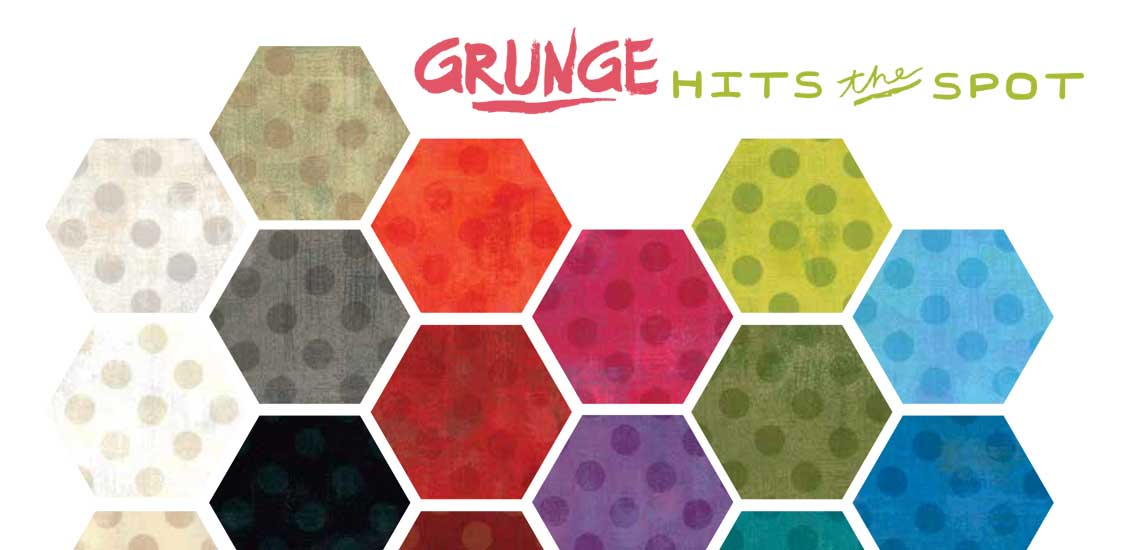 Grunge Hits The Spot Fabric Collection