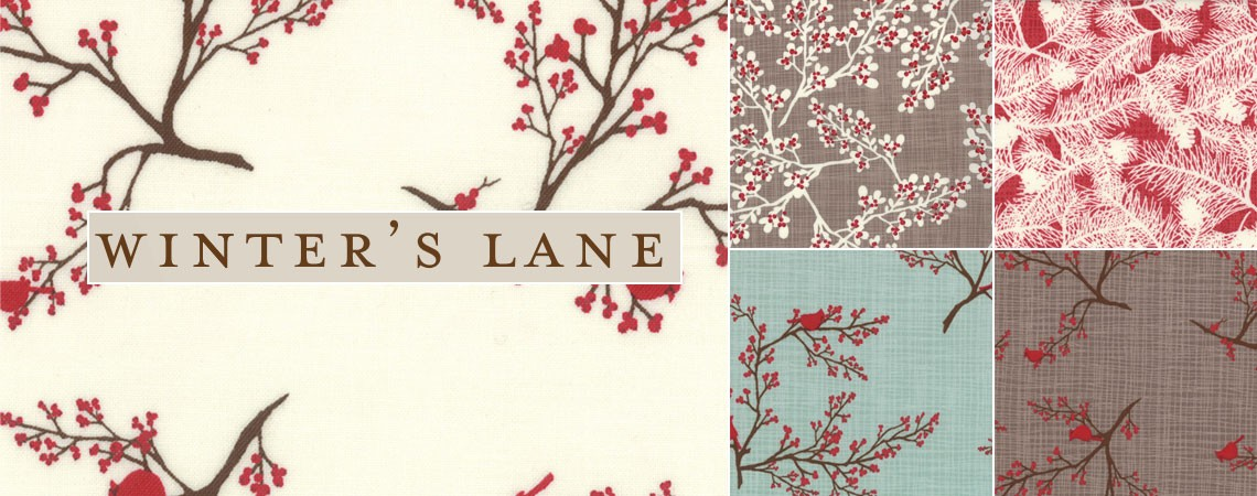 Return to Winters Lane Quilting Fabric