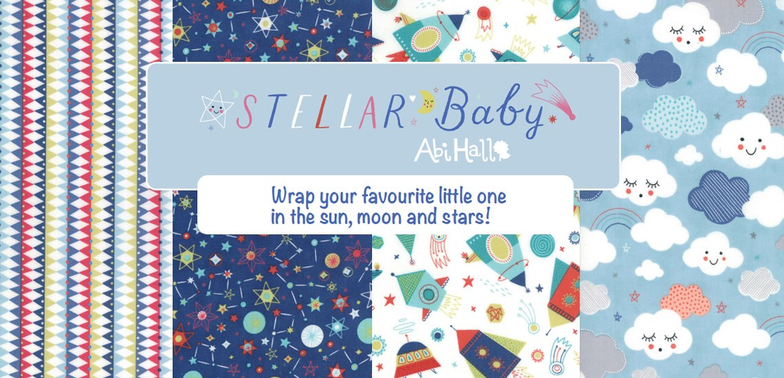 Stellar Baby Quilting Fabric