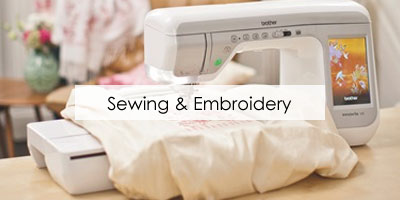 Combined Sewing & Embroidery Machines